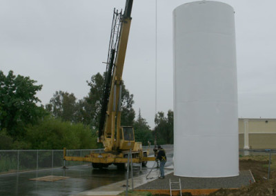 Tank installation is a service we offer